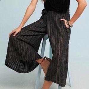 🆕NWT Eva Franco Extreme Wide Leg Striped Pants